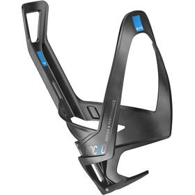 Elite Rocko Flaschenhalter Carbon schwarz matt/blaue grafik